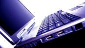 laptop blue tone