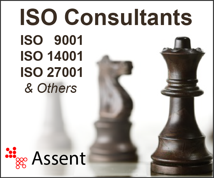 ISO Consultants for ISO 9001, ISO 14001, ISO 27001, Contact Assent.